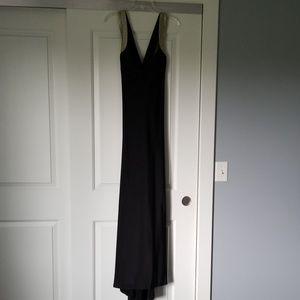 Calvin Klein gown!